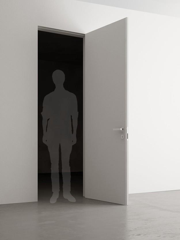 porte battante 60x240 cm. Black Bedroom Furniture Sets. Home Design Ideas
